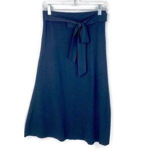Ann Taylor A-Line Skirt Black XS